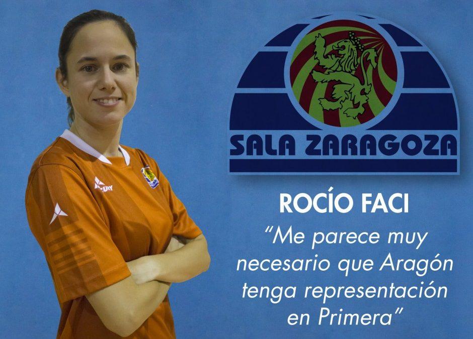 Entrevista a Rocío Faci, jugadora del Sala Zaragoza