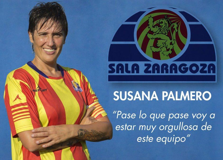 "Entrevista a Susana Palmero, capitana del Fútbol Femenino Zaragoza ""A"""