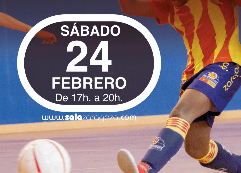 """Sala Zaragoza Celebra El """"Día Del Fútbol"""" En El Caracol"""