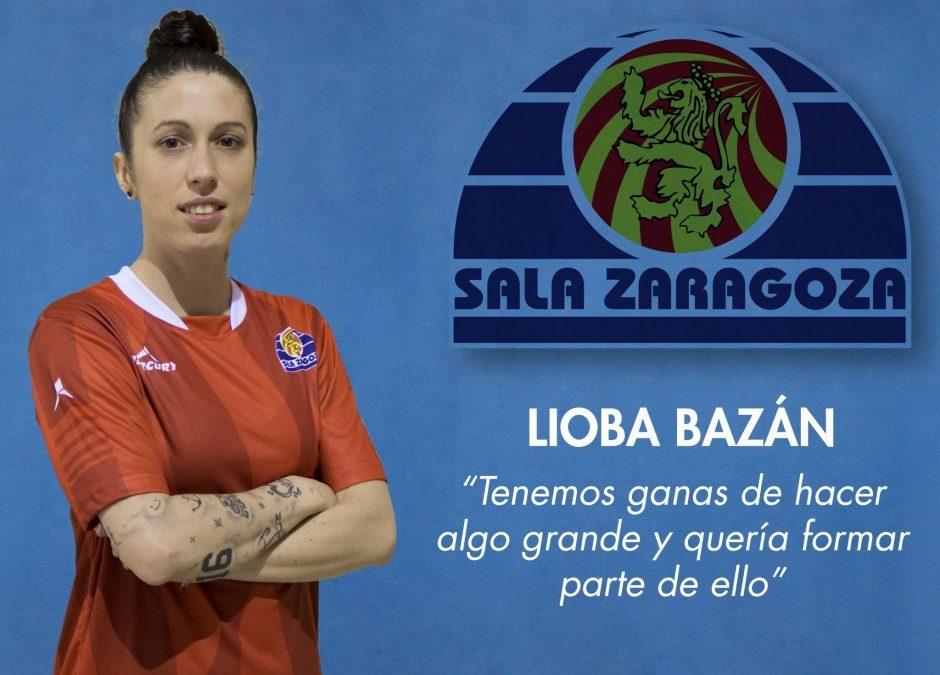 Entrevista a Lioba Bazán, jugadora de Sala Zaragoza