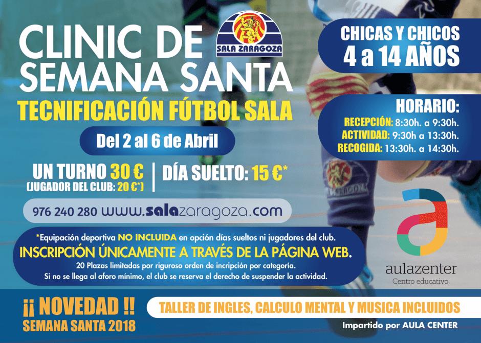 Sala Zaragoza presenta su clínic de tecnificación para Semana Santa