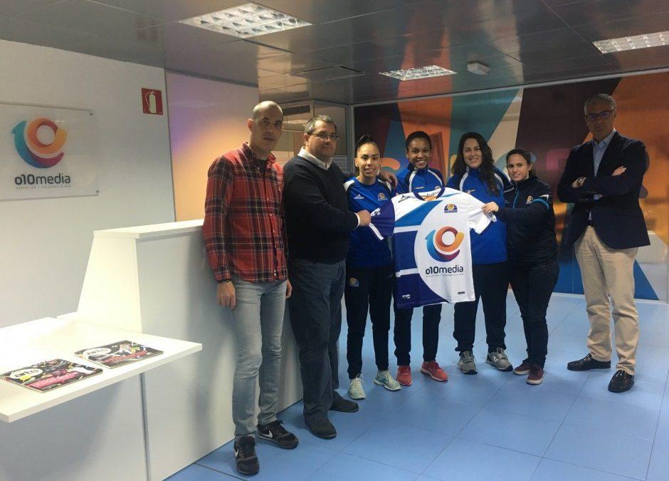 O10Media patrocinará las camisetas de Sala Zaragoza las próximas tres temporadas