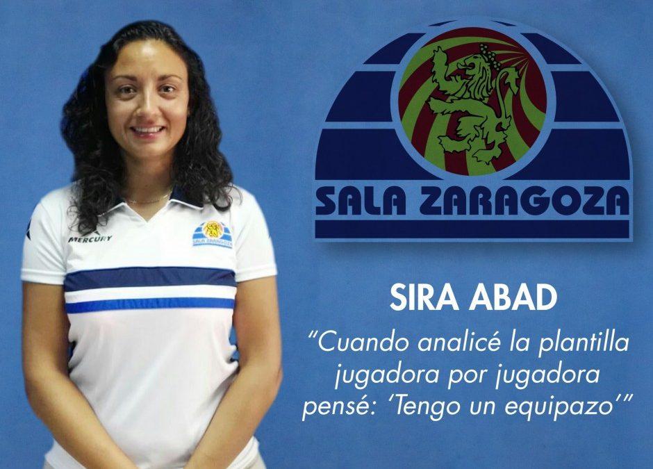 Entrevista a Sira Abad, entrenadora del Fútbol Femenino Zaragoza