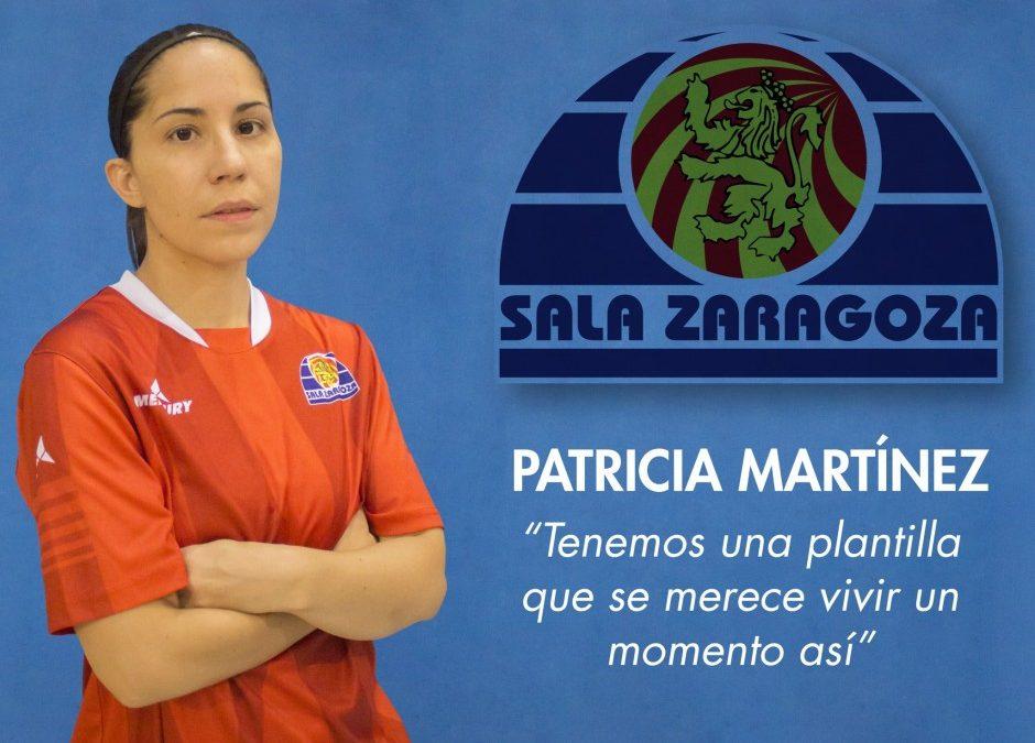 Entrevista a Patricia Martínez, jugadora del Sala Zaragoza