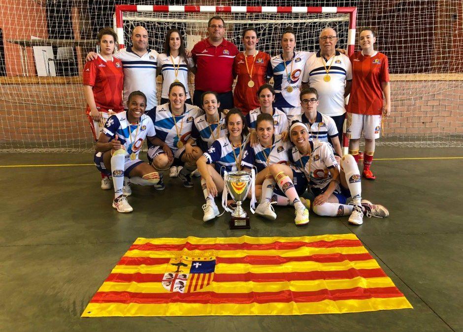I Sala Zaragoza, campeón de la VI Copa Gobierno de Aragón