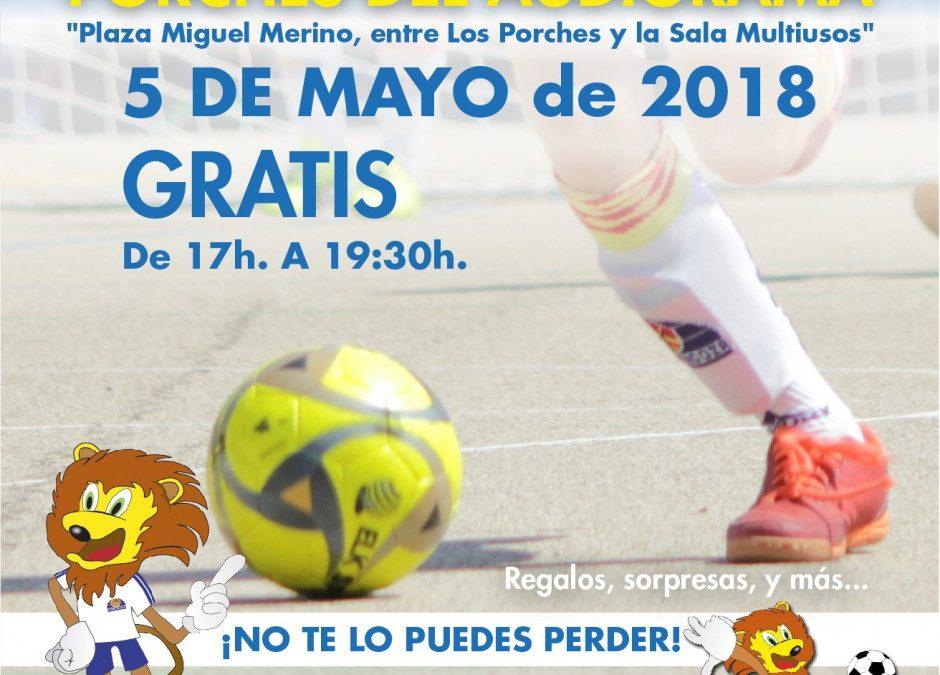 """Sala Zaragoza celebra este sábado el """"Día del Fútbol""""en los Porches del Audiorama"""