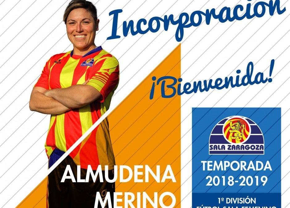 Almudena Merino, primera incorporación para el primer equipo