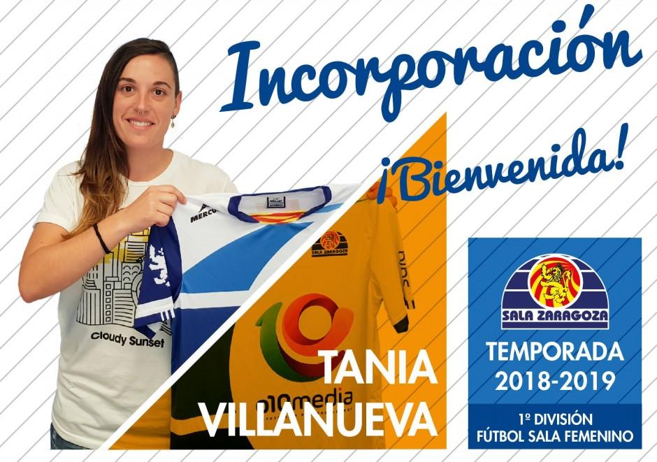 Tania Villanueva regresa a Sala Zaragoza tras su paso por Italia