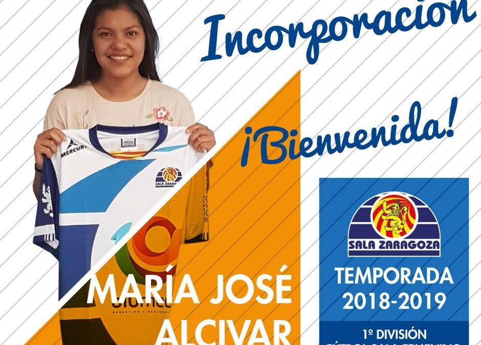 María José Alcivar, nueva jugadora de Sala Zaragoza