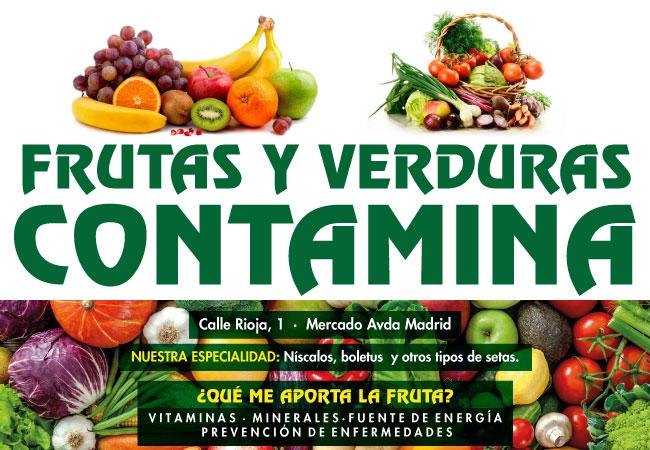 Frutas Contamina, nuevo patrocinador de Sala Zaragoza