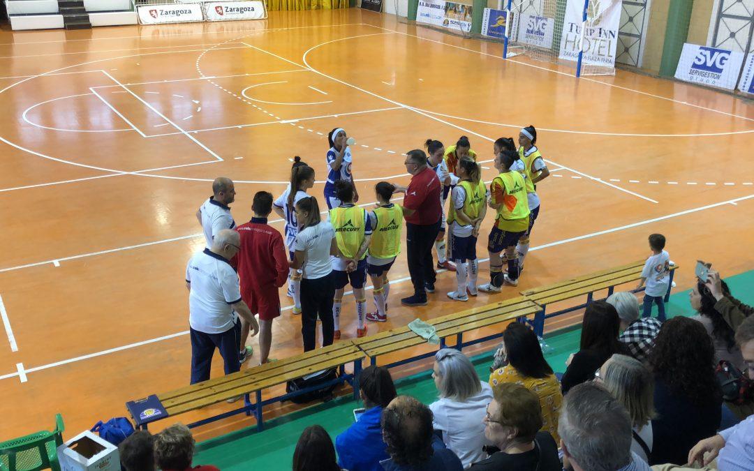 Sala Zaragoza cae derrotado frente al Penya Esplugues