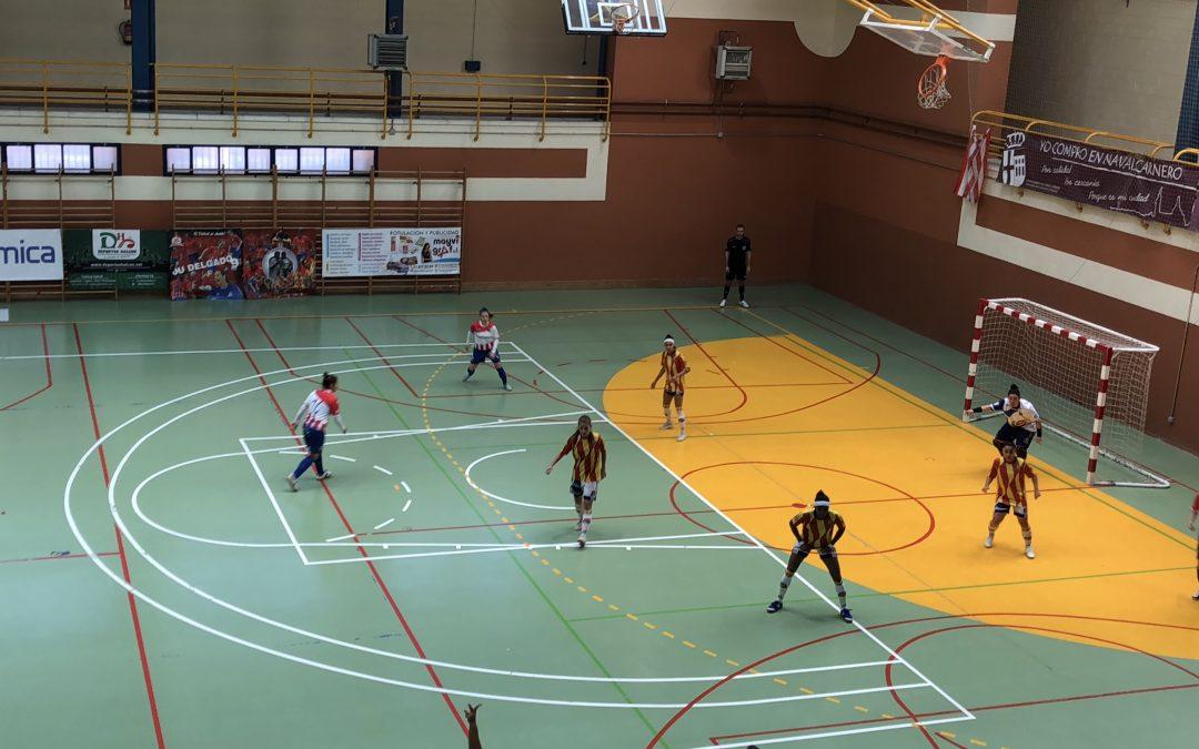 Dura derrota de Sala Zaragoza en Navalcarnero