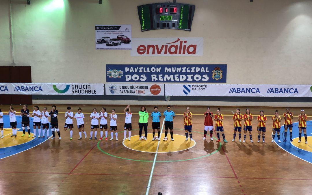 Derrota en Ourense de un Sala Zaragoza que mereció más