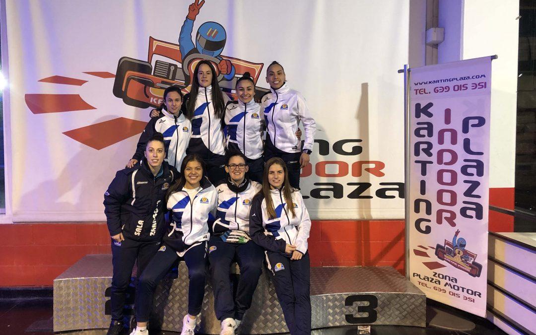 Sala Zaragoza visita el Karting Indoor Plaza