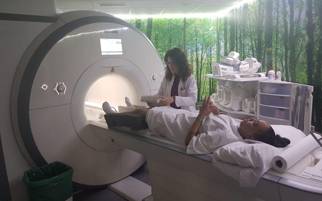 Rapha Martins se somete a una resonancia magnética en Paracelso Sagasta