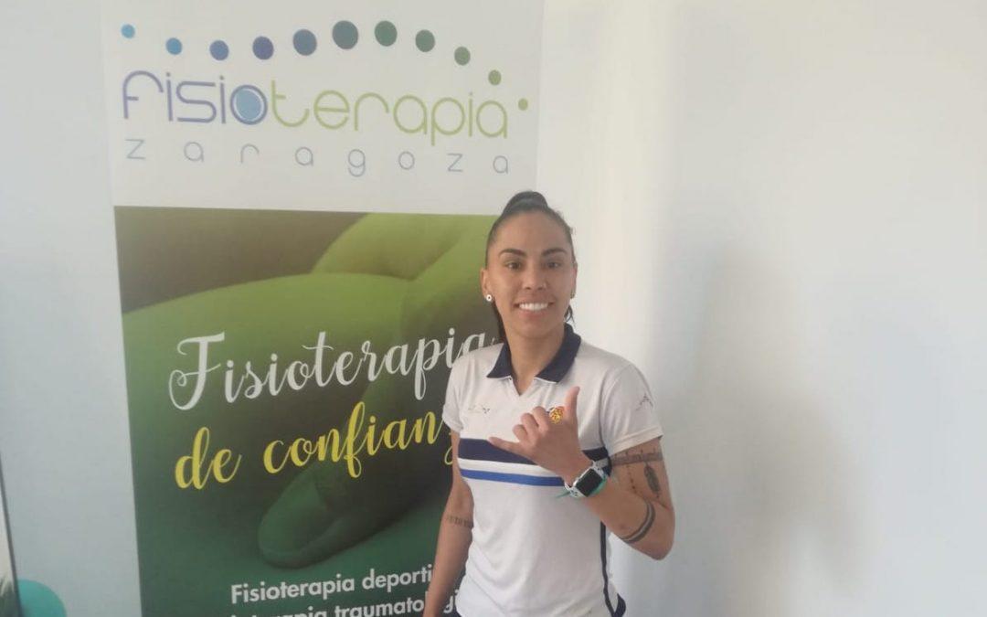 Fisioterapia Zaragoza, las manos que cuidan de las jugadoras de Sala Zaragoza