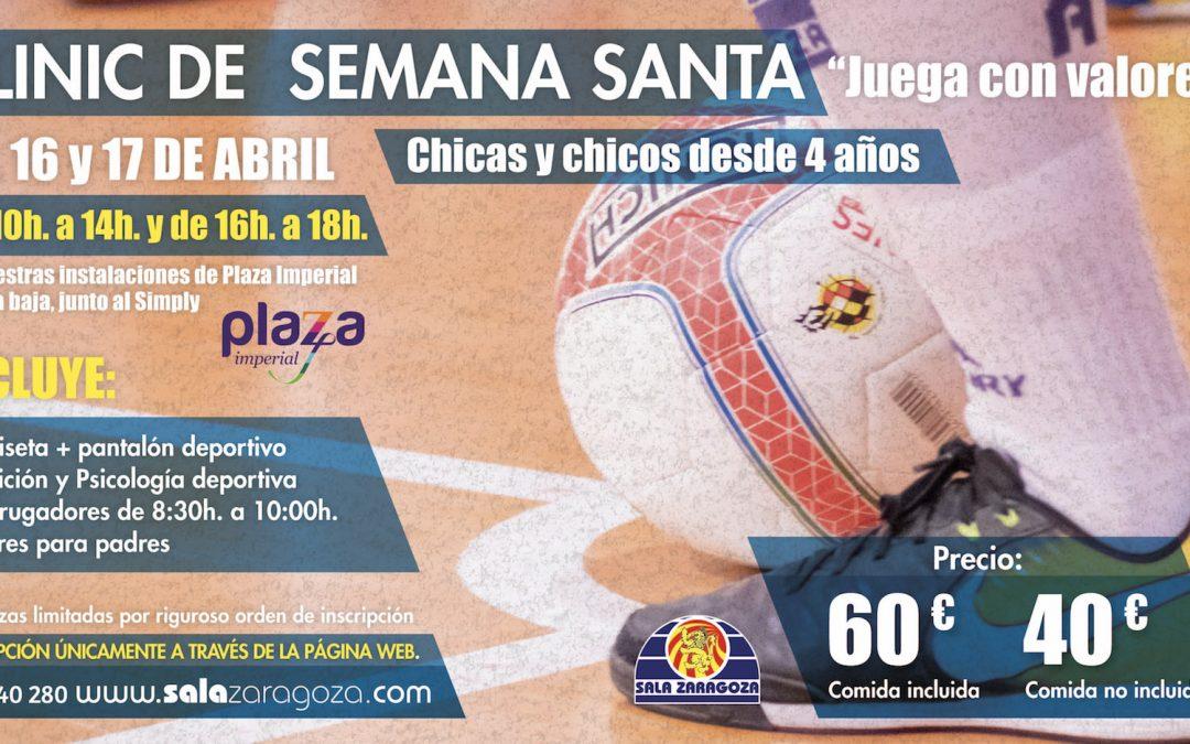 Sala Zaragoza presenta el clínic de Semana Santa