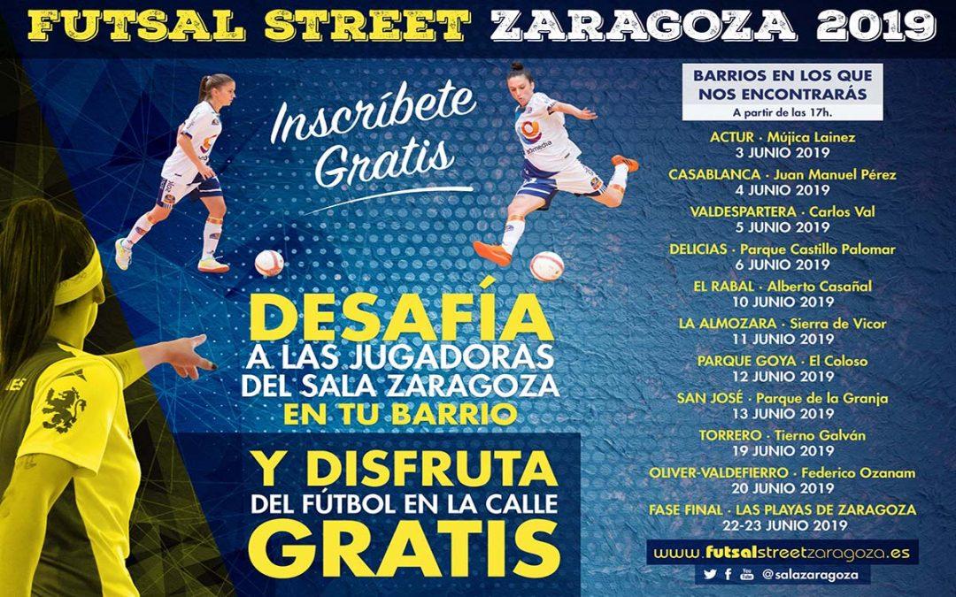 Sala Zaragoza pone en marcha una nueva edición del Futsal Street