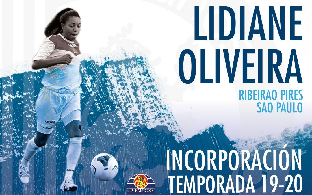 La polivalente Lidiane Oliveira ficha por Sala Zaragoza