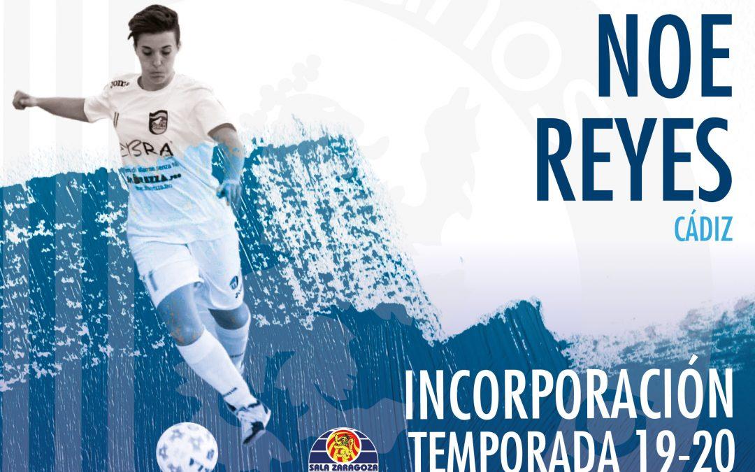 Noe Reyes, fichaje de calidad contrastada para Sala Zaragoza