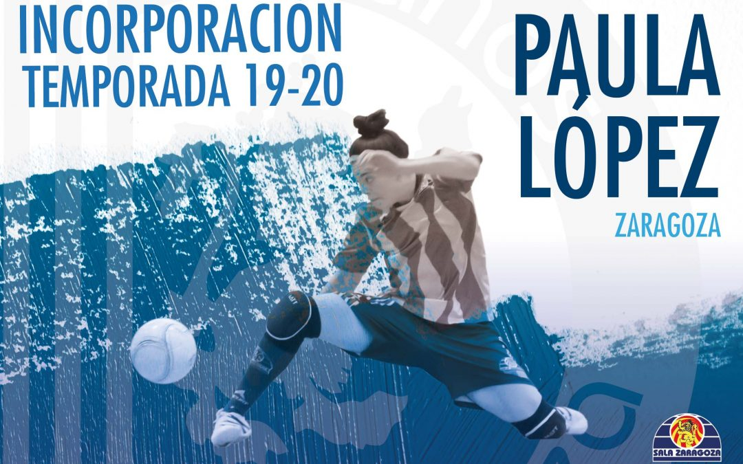 Paula López regresa a la disciplina de Sala Zaragoza