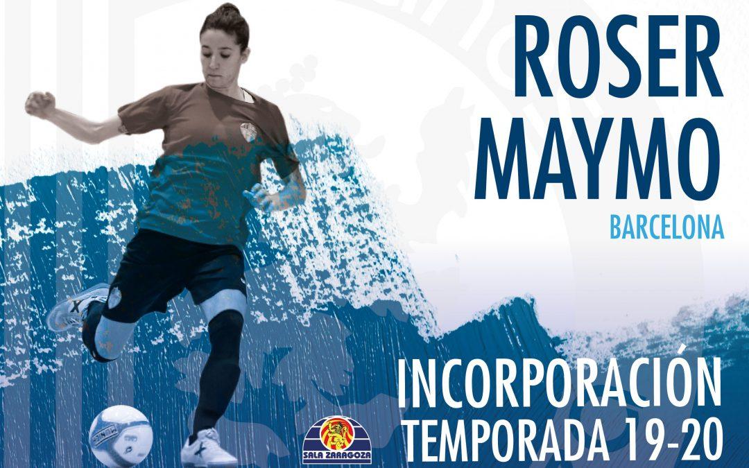 Roser Maymó, primera incorporación de Sala Zaragoza