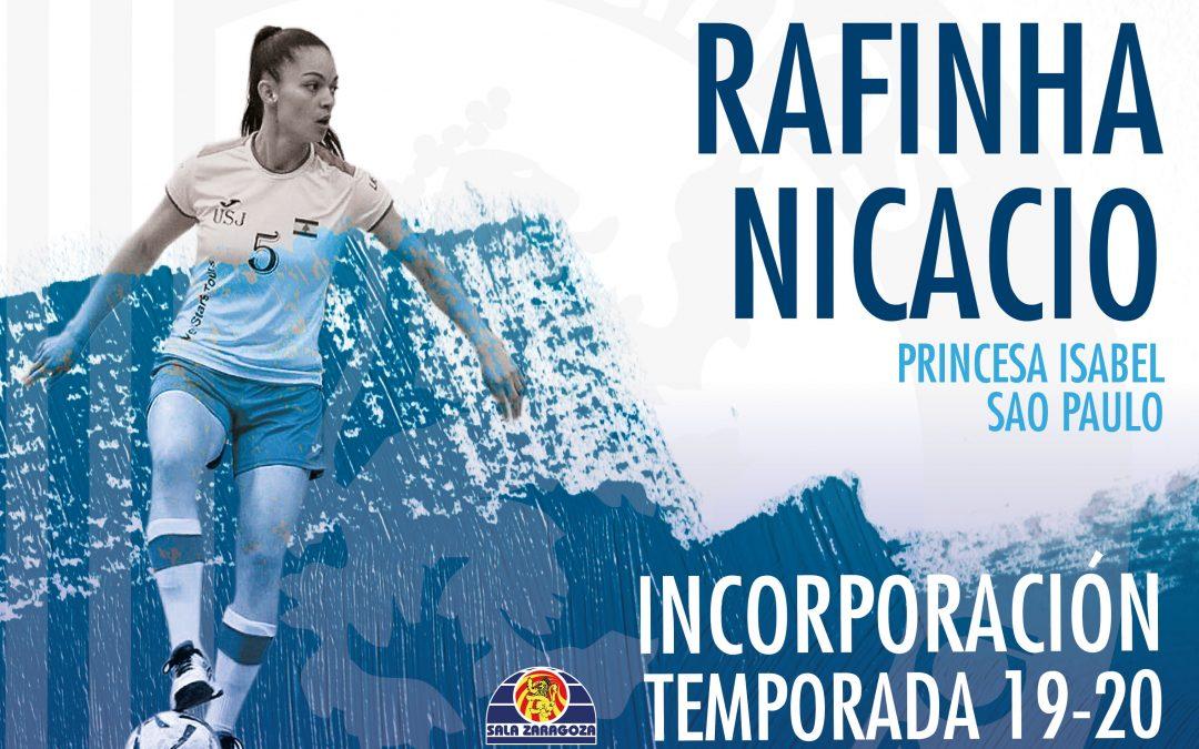 """Rafaela Nicacio """"Rafinha"""", calidad y músculo para Sala Zaragoza"""