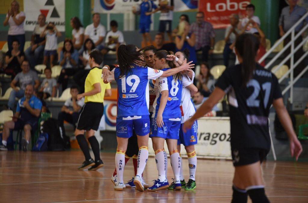 Reparto de puntos en el debut de Sala Zaragoza