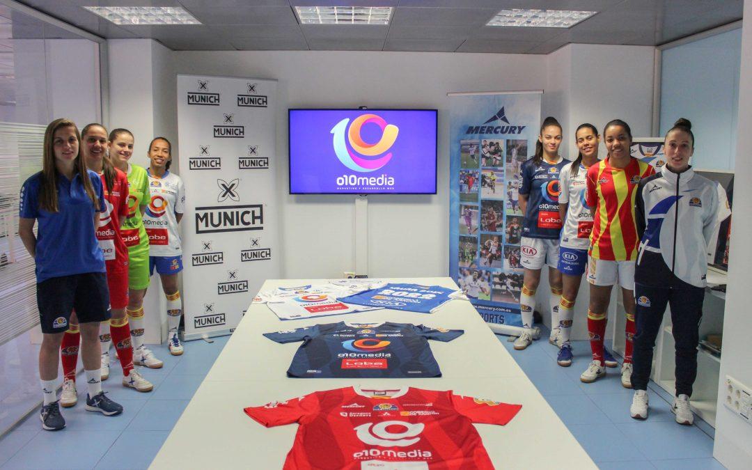 Sala Zaragoza anuncia la renovación de Laura Boix en la presentación de la indumentaria deportiva para la temporada 2019-2020