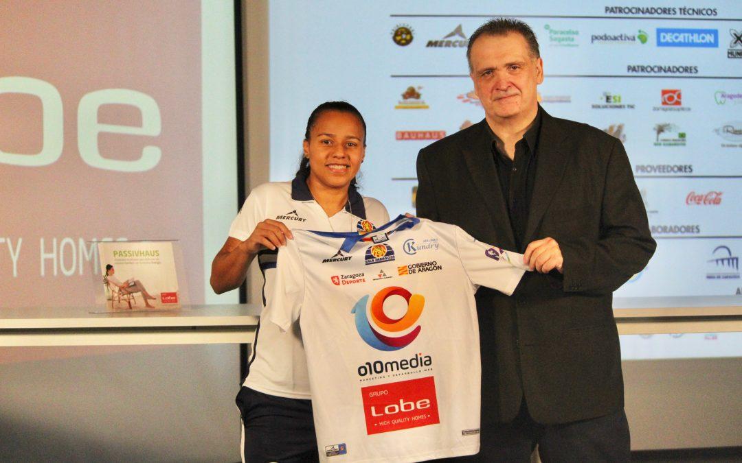 Dedeia Reis, nueva jugadora de Sala Zaragoza