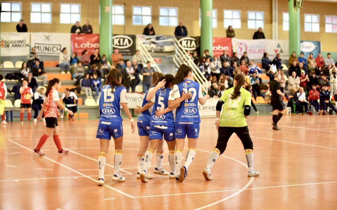 Sala Zaragoza se reencuentra con la victoria ante su afición
