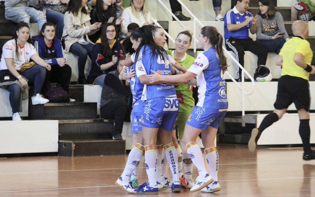 Sala Zaragoza se impone al Leganés en un partido igualado y de muchos goles