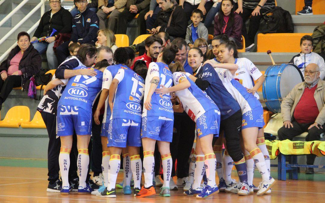 Derrota de Sala Zaragoza en un duelo directo de la zona media