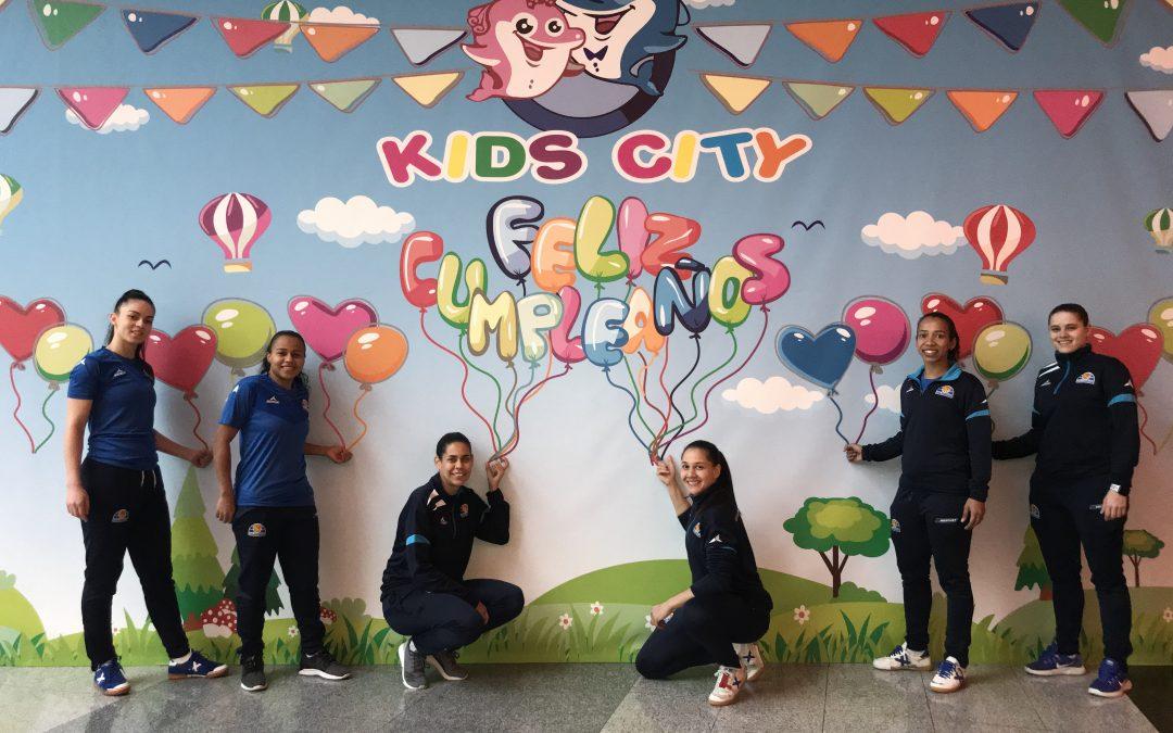 Kids City, nuevo patrocinador de Sala Zaragoza