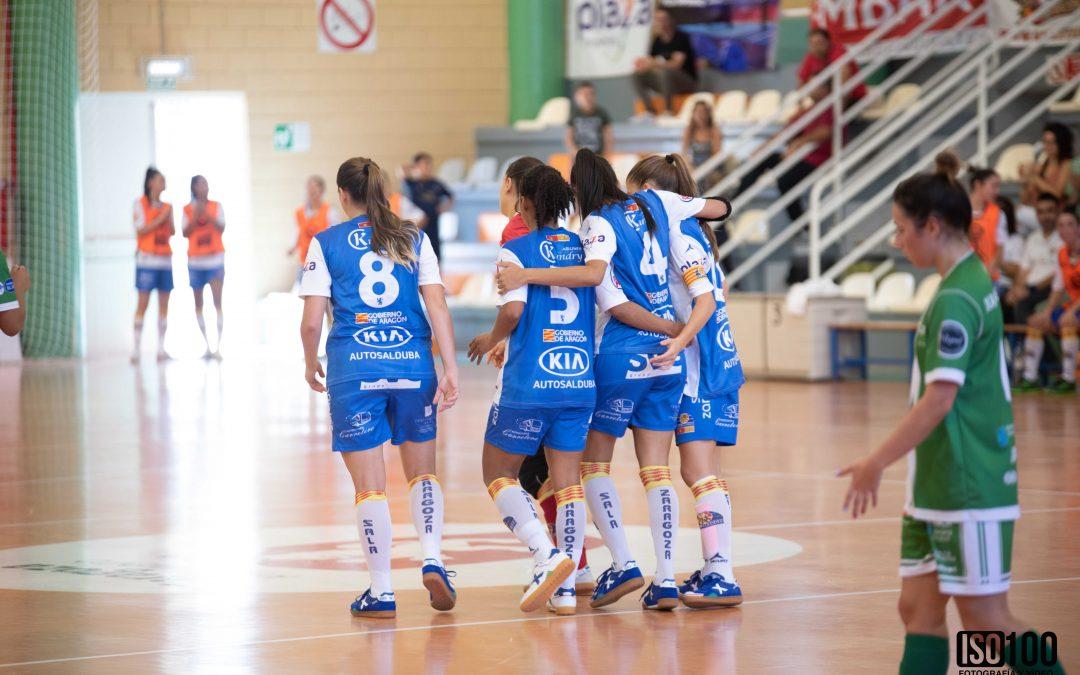 Sala Zaragoza, en busca de una clasificación histórica para la final four de la Copa de la Reina