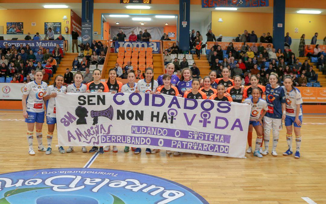 Sala Zaragoza cae con la cabeza alta en Burela