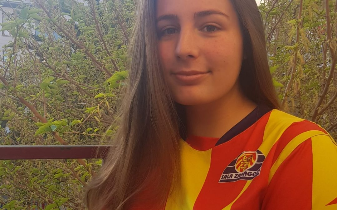 Entrevista a Sheyla Iranzo, capitana del Fútbol Femenino Zaragoza