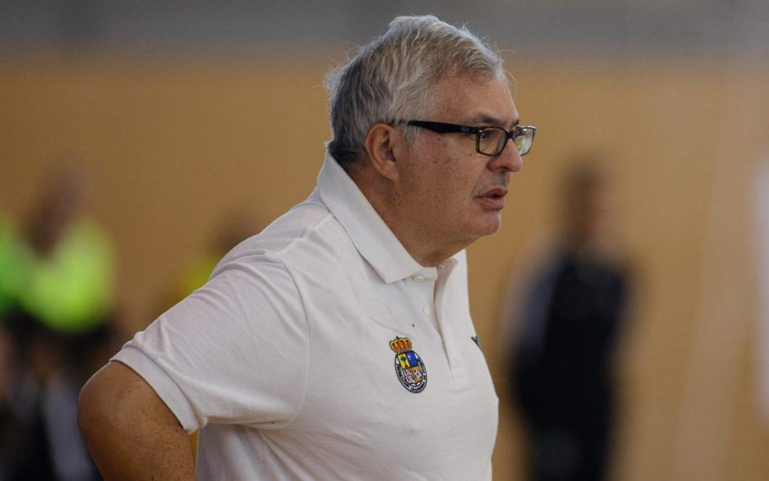 Entrevista a Luis Ángel Corredera, entrenador de Sala Zaragoza
