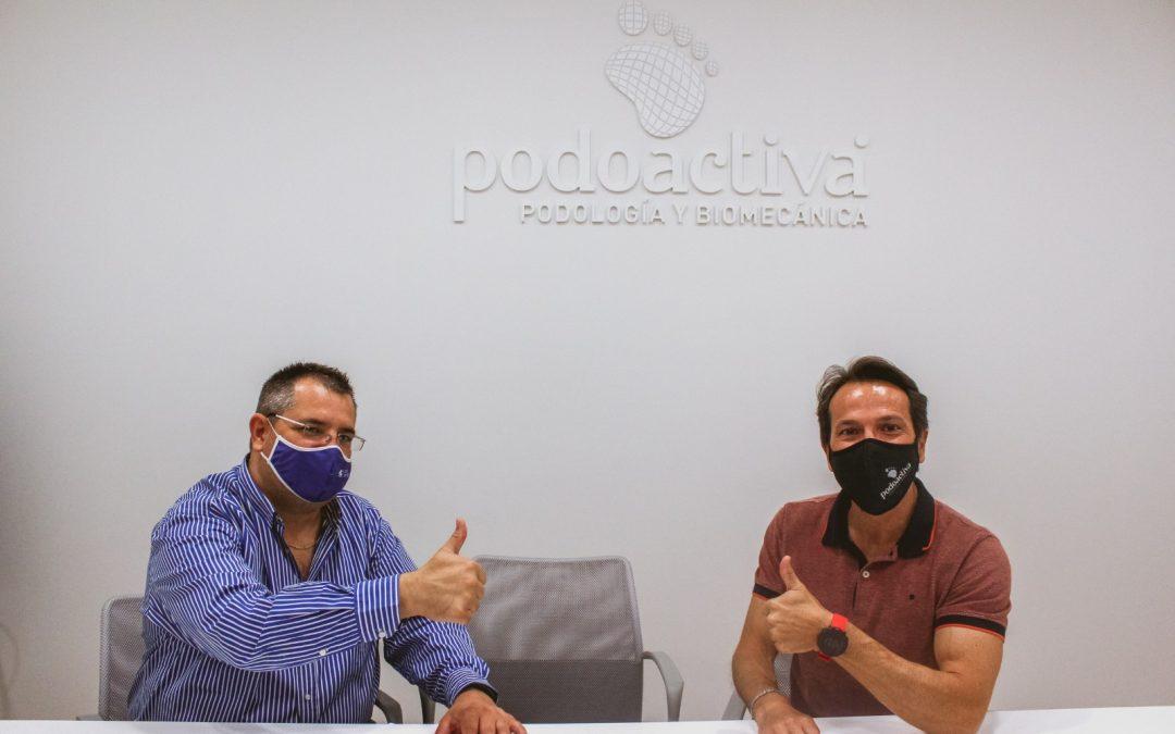 Sala Zaragoza y Podoactiva firman su acuerdo de renovación