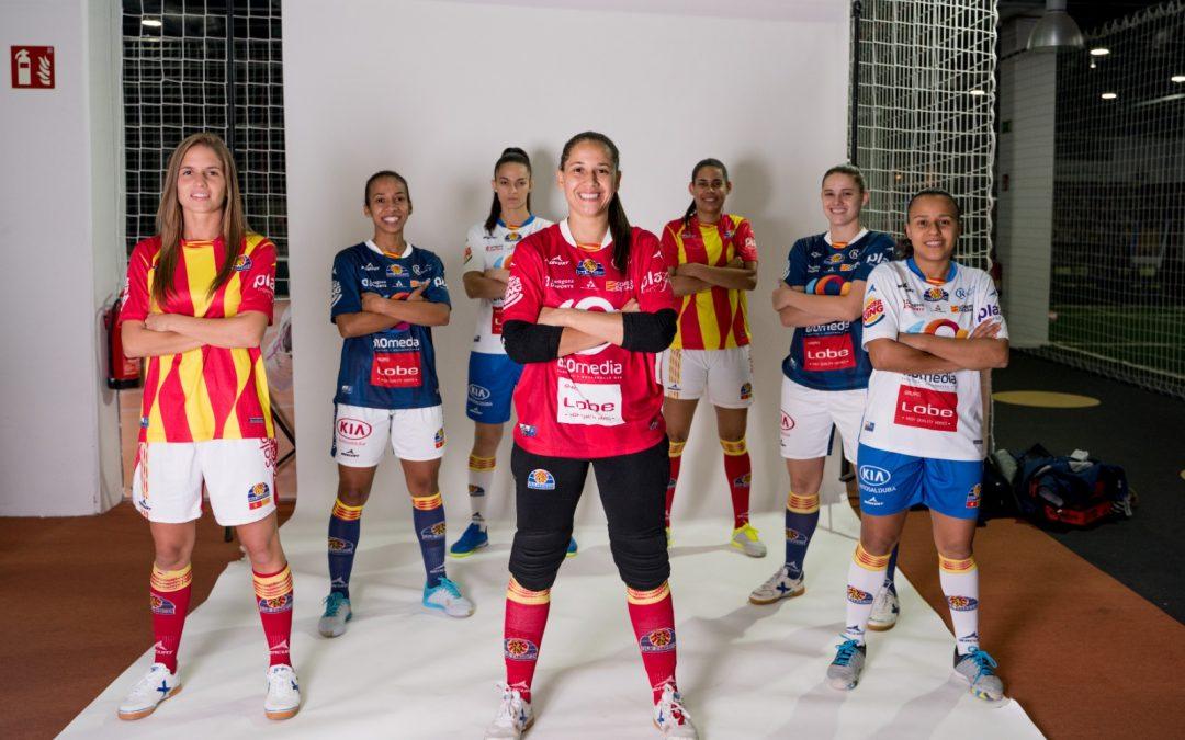 Sala Zaragoza se hace las fotos oficiales de la nueva temporada