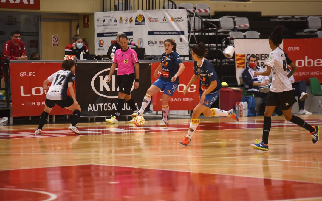 Sala Zaragoza no consiguió hacerse con la victoria contra Torreblanca Melilla