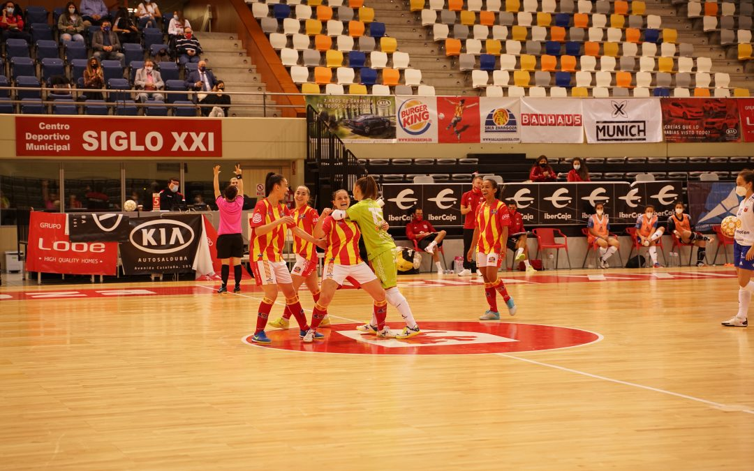 Sala Zaragoza busca asentarse en los primeros puestos de la clasificación