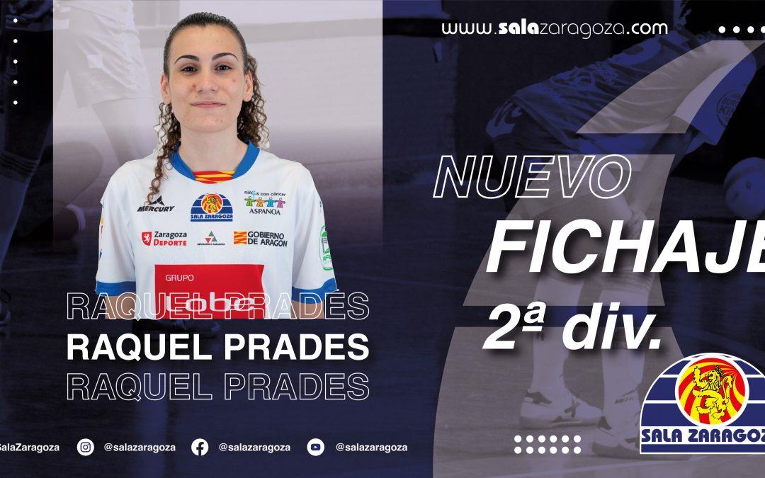 El Sala Zaragoza incorpora a Raquel Prades para el segundo equipo