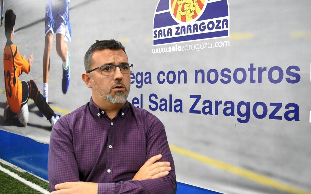 Yago Loureiro, gerente de Sala Zaragoza: «Vengo aquí a conseguir títulos deportivos»
