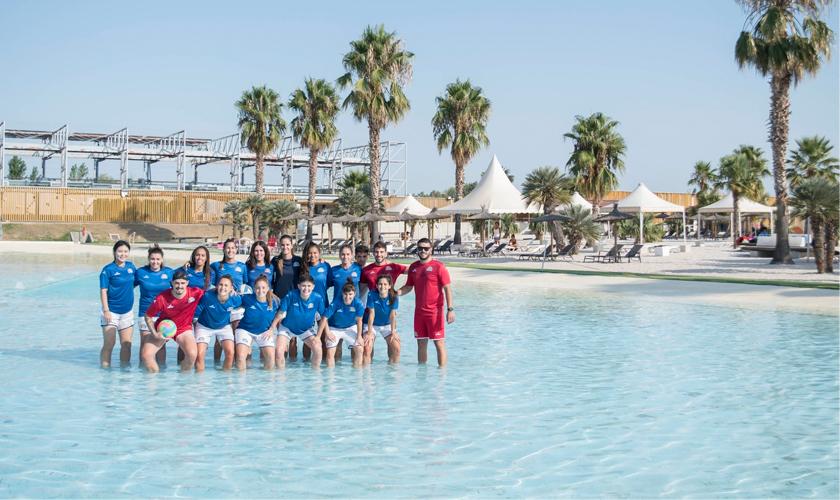Entrenamiento en Las Playas Zaragoza