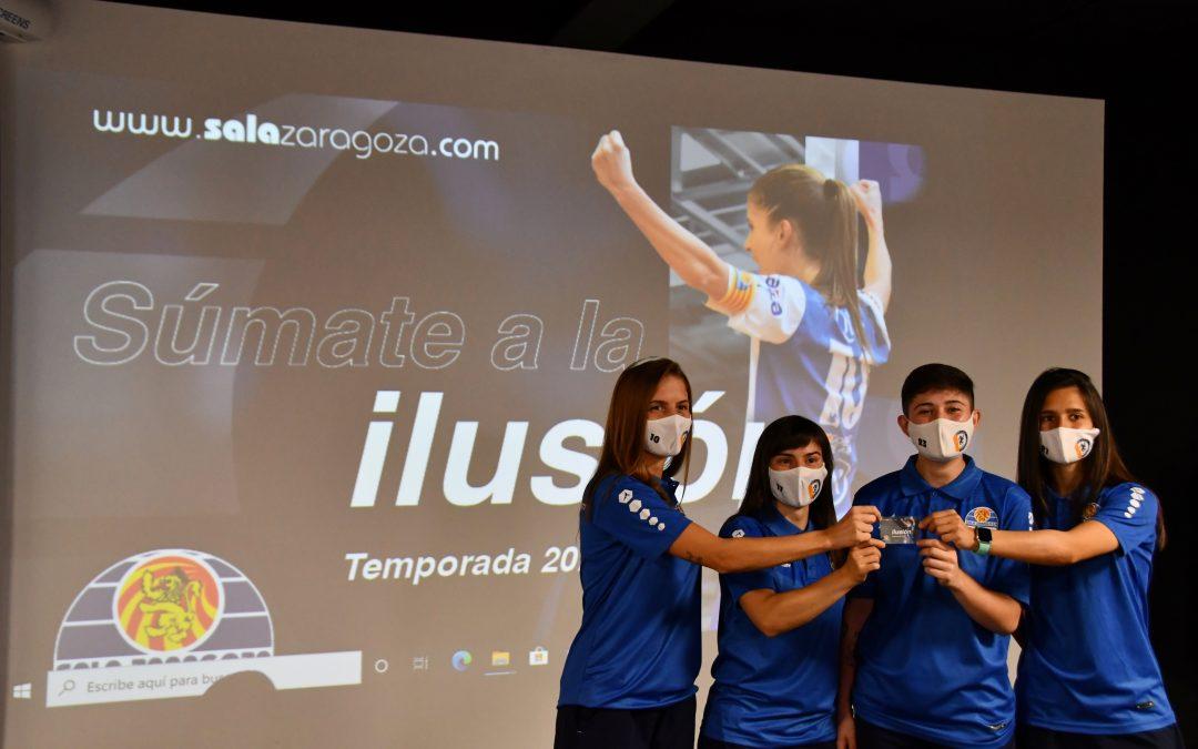 """""""Súmate a la ilusión"""", la campaña de abonados del Sala Zaragoza"""