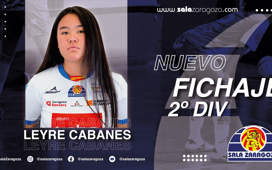 Leyre Cabanes, juventud para la portería del Sala Zaragoza B
