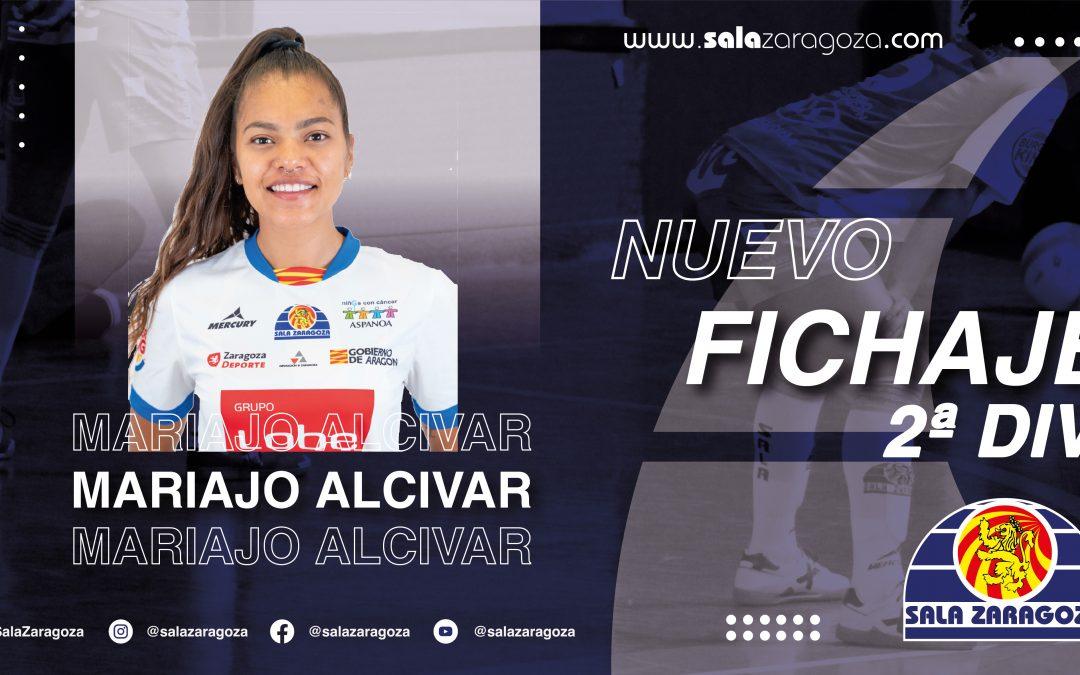 Mariajo Alcivar regresa al Sala Zaragoza para reforzar al segundo equipo