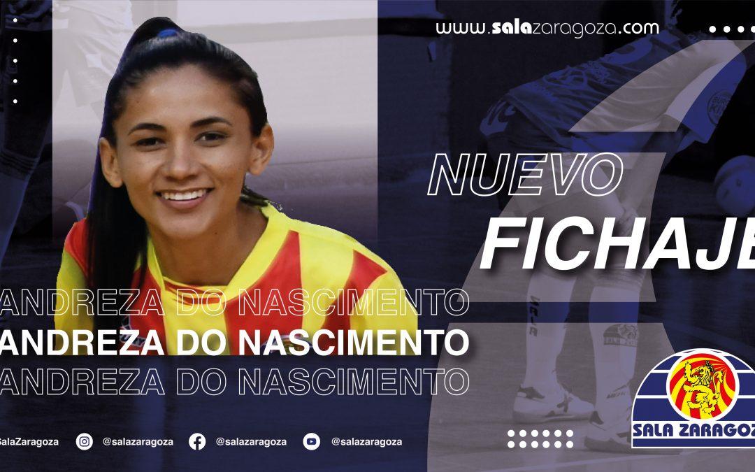 Andreza, nueva jugadora del Sala Zaragoza