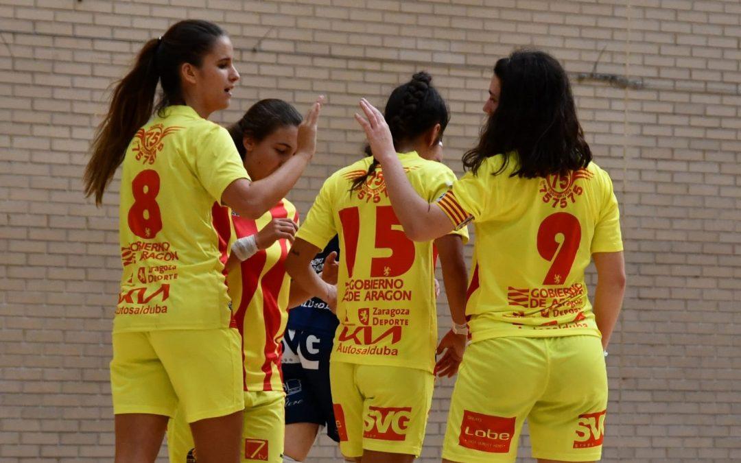 Derrota del Sala Zaragoza B ante un Castelldefels que no dio opción